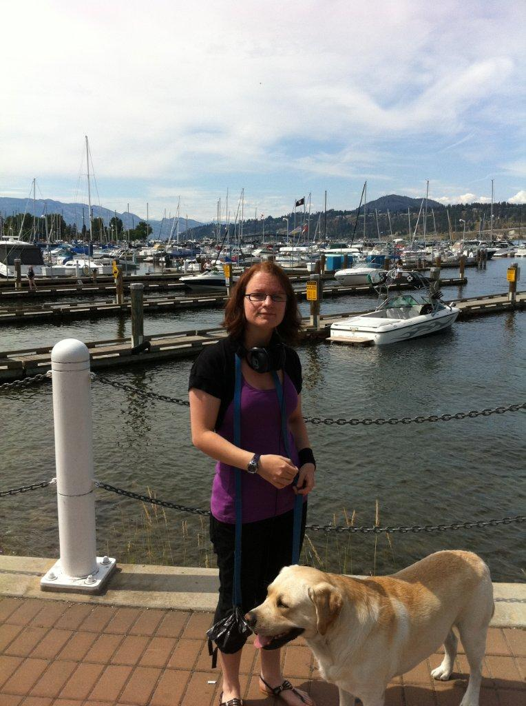 Dexxter and Katrine in Kelowna_2011